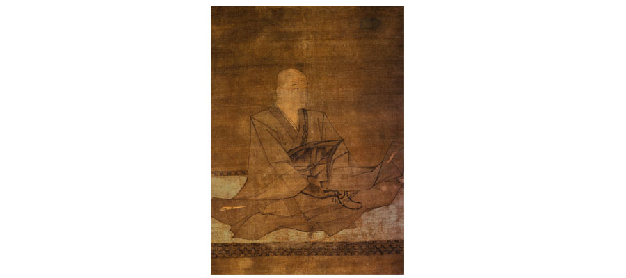 Statue of a man - Hojo Sanetoki